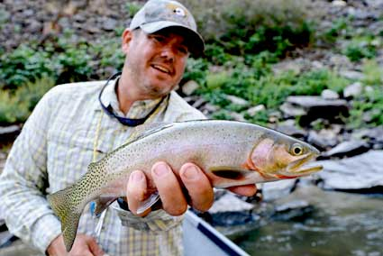 Jeff Helfrich Fishing Salmon River